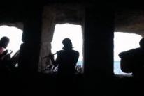 Горная песня. Элизбар. Импровизация в акустической пещере Чуфут-Кале